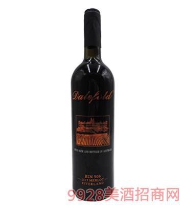 黛富德Bin508玫瑰金限量版2014干红葡萄酒