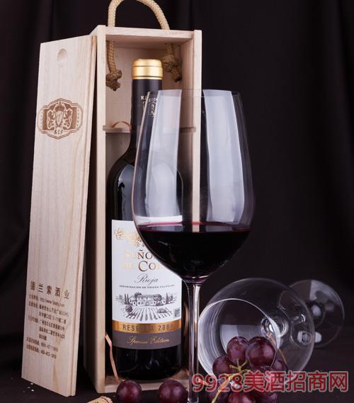 蔻丰先生特酿葡萄酒2009