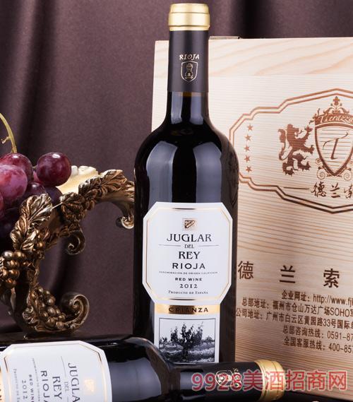 朱格拉尔之王佳酿干红葡萄酒2012