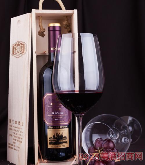 朱格拉尔之王珍酿葡萄酒2005