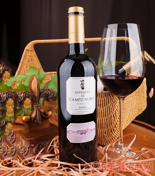 坎普侯爵珍藏级红葡萄酒2008