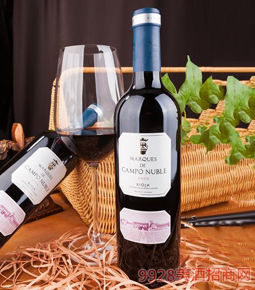 坎普侯爵红葡萄酒2013