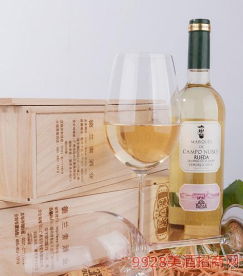 坎普侯爵卢艾达白葡萄酒2013