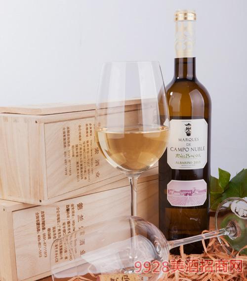 坎普侯爵阿尔巴利诺葡萄酒2013