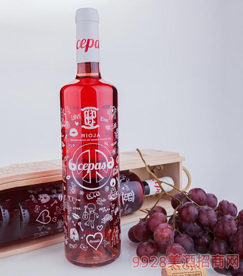 贝丽佳精选桶期桃红葡萄酒2013