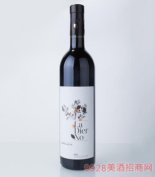拉迪诺丹魄葡萄酒2012