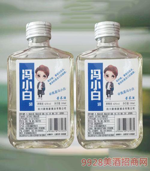 冯小白苦荞酒42度100ml