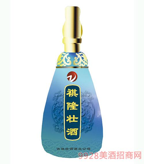 祺隆壮酒蓝瓶