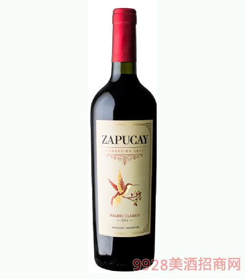 樽唯爱马尔贝克古典干红葡萄酒