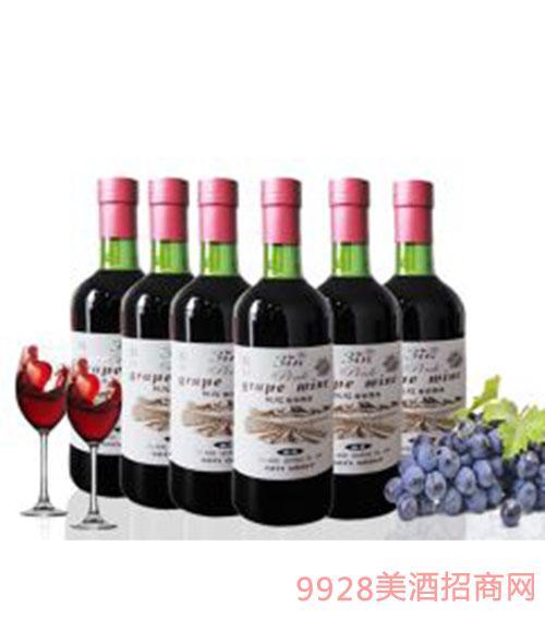幽香桃红红酒750ml
