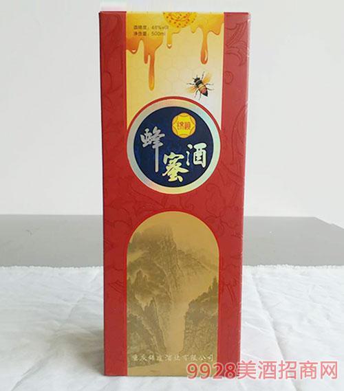 锦峡蜂蜜酒48度500ml盒装