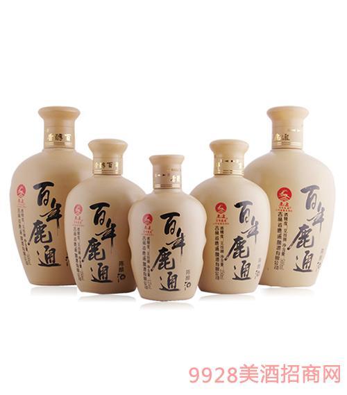 百年鹿通酒陈酿