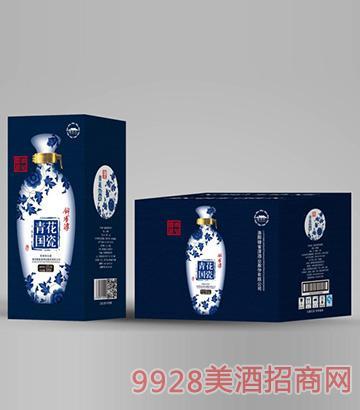 锦雀淳酒青花国瓷(箱)42度500ml