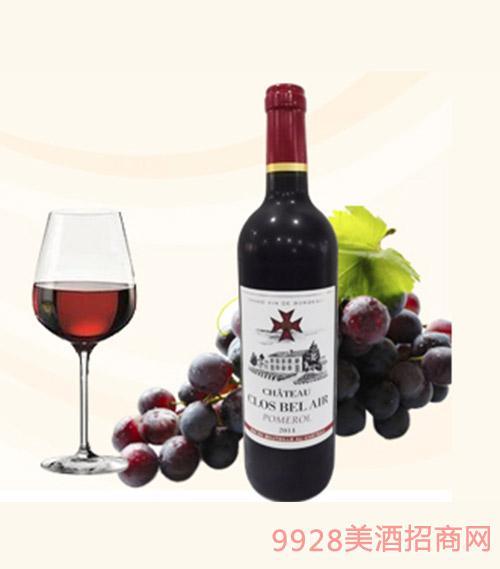 法国贝莱城堡干红葡萄酒