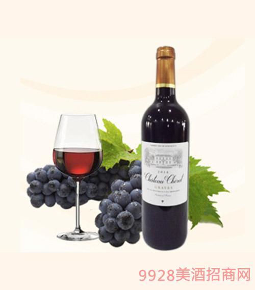 法国诗锐城堡干红葡萄酒