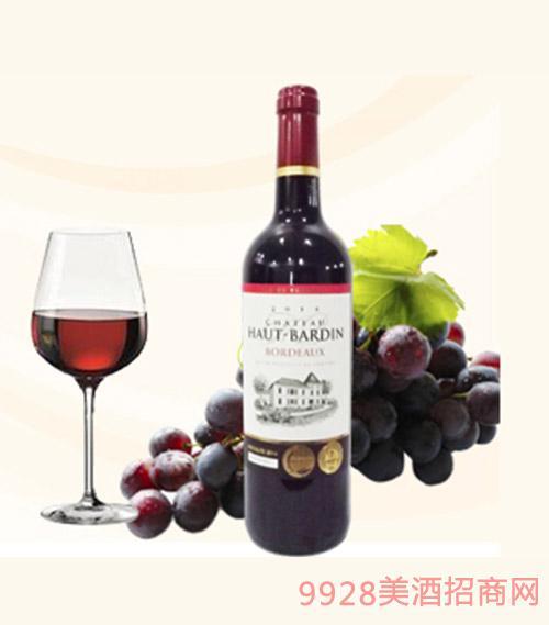 法国巴尔顿城堡干红葡萄酒