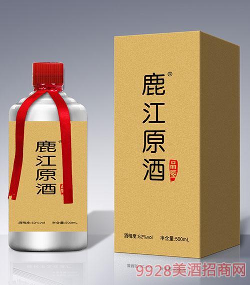 鹿江原酒品鉴52度500ml