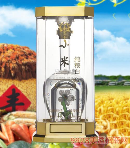 小米纯粮白酒空谷幽兰41度500ml