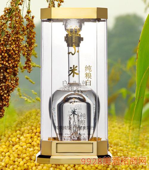 小米纯粮白酒丹凤朝阳41度500ml