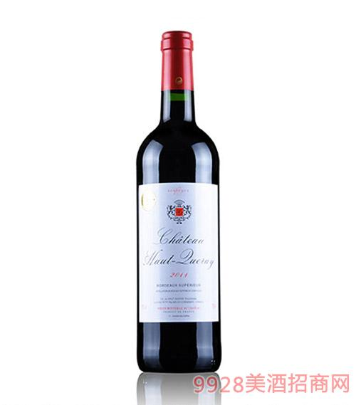 法国波尔多奧赫萊城堡干红葡萄酒