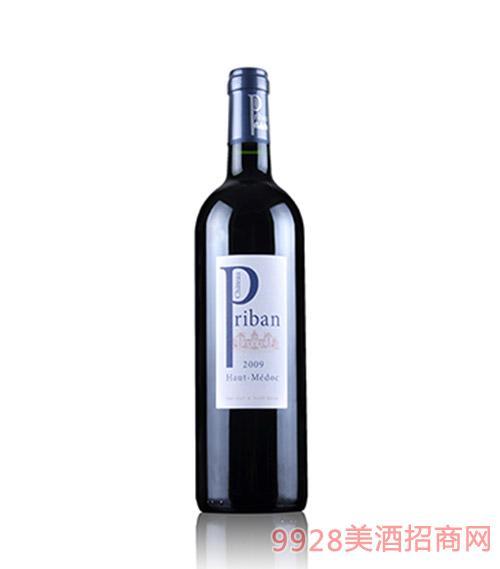 法国波尔多柏宾酒庄干红葡萄酒