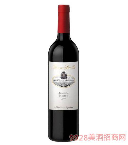 索雷拉伯納達-馬爾貝克紅葡萄酒12.5度750ml
