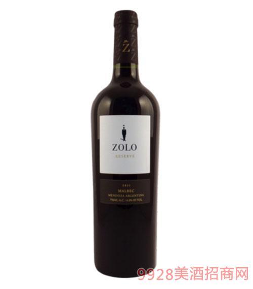 佐羅珍藏馬爾貝克紅葡萄酒13度750ml