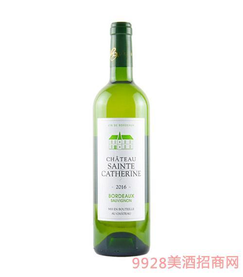 法国波尔多圣卡瑞桃红葡萄酒