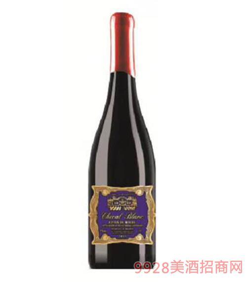 白马亭园教皇大古堡干红葡萄酒13度1.5L