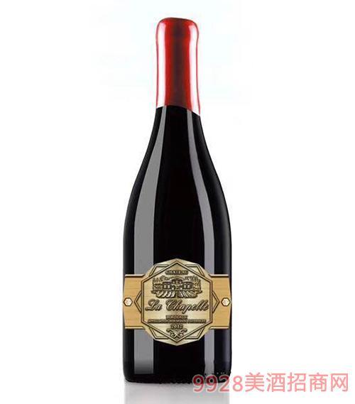 教皇古堡干红葡萄酒13度750ml