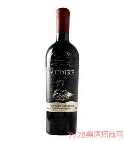 萨克斯经典赤霞珠(金天鹅)干红葡萄酒14度750ml