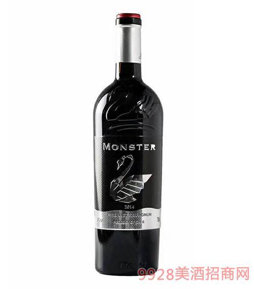梦斯特(白天鹅)干红葡萄酒14度750ml