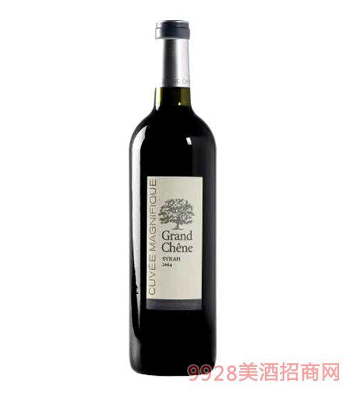 杰柏图酒庄橡树干红葡萄酒13度750ml