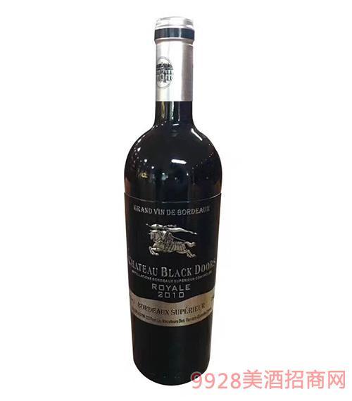 黑轩庄园干红葡萄酒2010