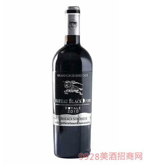 黑轩庄园国王干红葡萄酒14度750ml