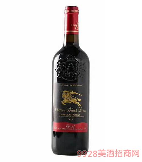 黑轩庄园伯爵干红葡萄酒14度750ml