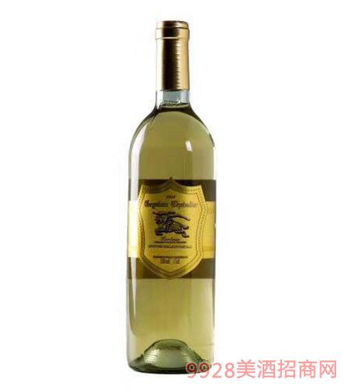 黑轩庄园歌雅伦骑士白葡萄酒13度750ml