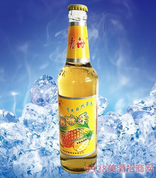 青舟果味乐菠萝味碳酸饮料