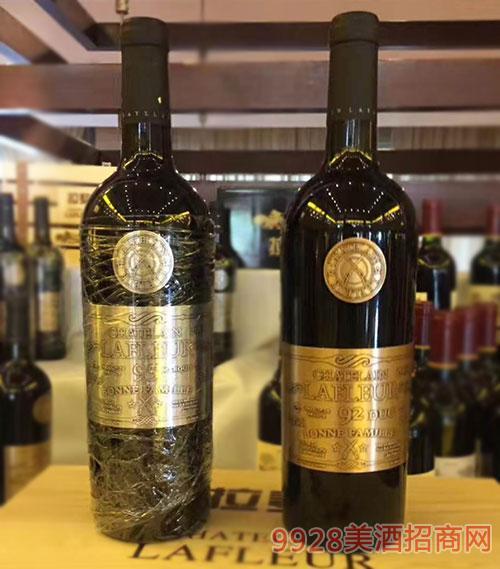 法国拉斐92干红葡萄酒750ml