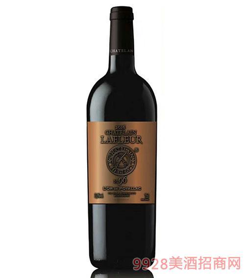 法国拉斐伯雅克96干红葡萄酒13.5度750ml