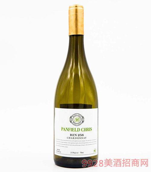 奔富克鲁斯258霞多丽干白葡萄酒14.5度750ml