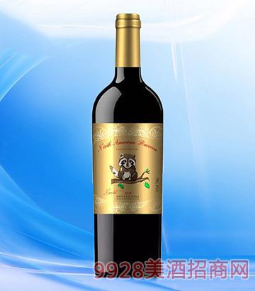 北美小浣熊葡萄酒2010