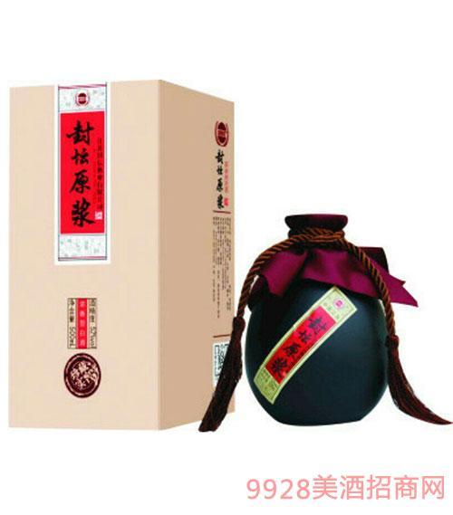 封坛原浆酒盒装
