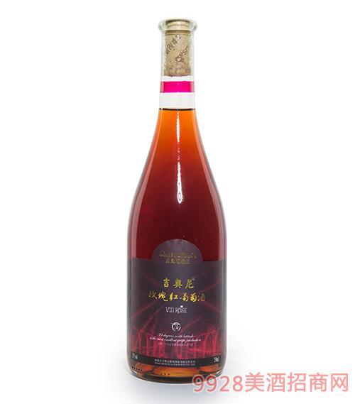 吉奥尼玫瑰红葡萄酒12度750ml