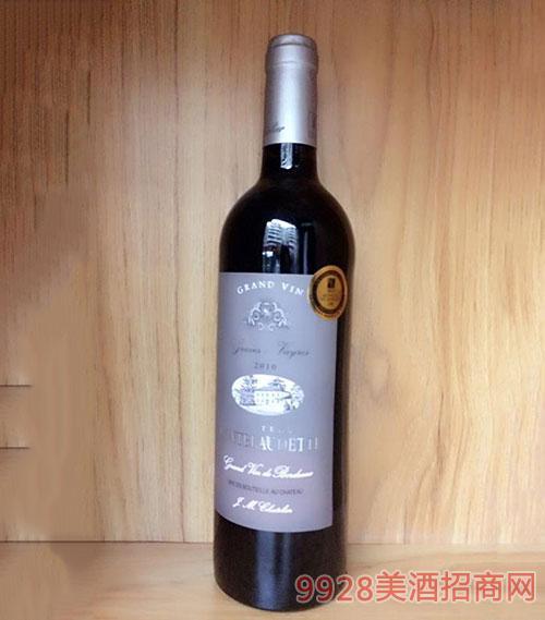 法国德芙城堡特酿干红葡萄酒