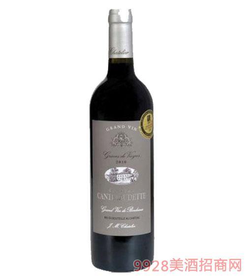 法国德芙城堡特酿 干红葡萄酒-