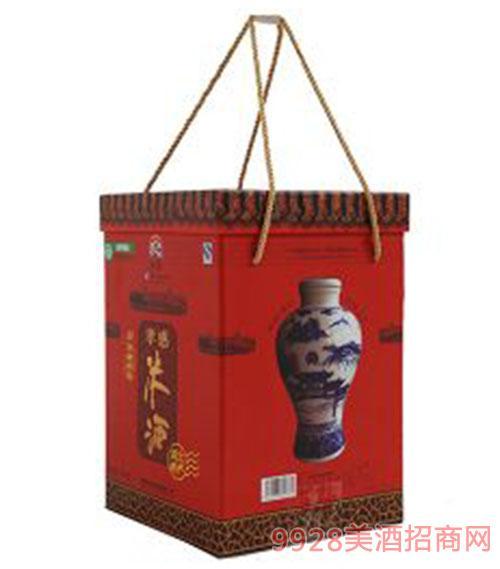 青花瓷坛子米酒1800ml