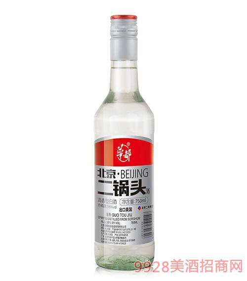 华都酒北京二锅头750毫升56度