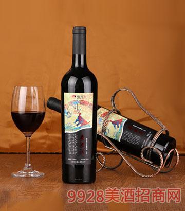 红日庄园秦梁洪干红葡萄酒