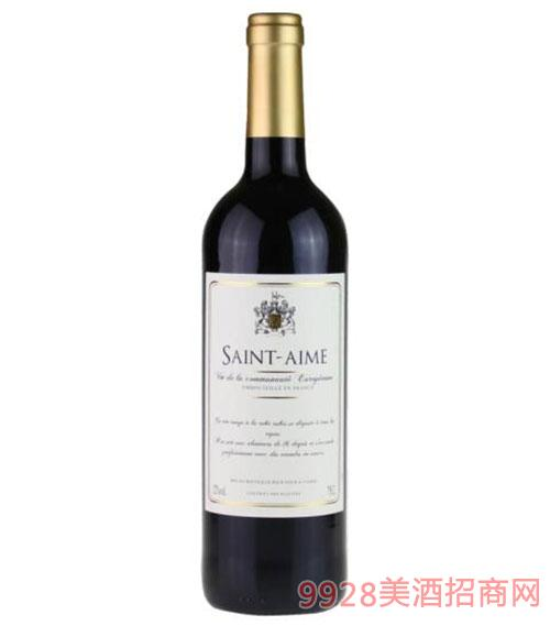 法国圣艾米干红葡萄酒750ml